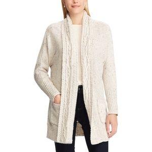Chaps Oversized Cardigan Sweater